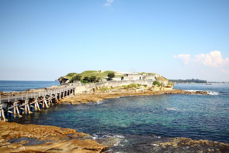 Bare Island - Australia royalty free stock image