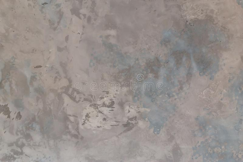 Bare plaster wall cement style loft gray color surface texture material wall, floor rough concrete background detail royalty free stock photo