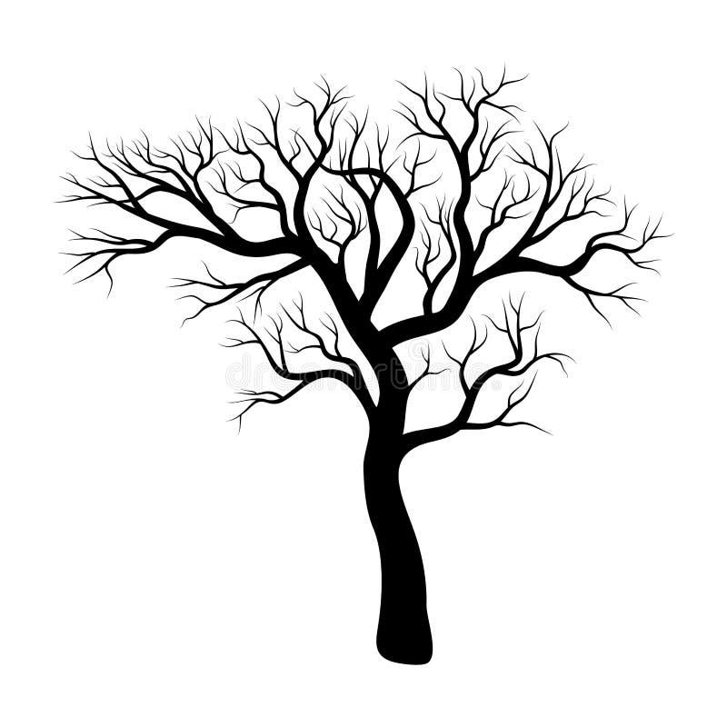 Bare Tree Silhouette Stock Illustrations – 3,272 Bare Tree ...