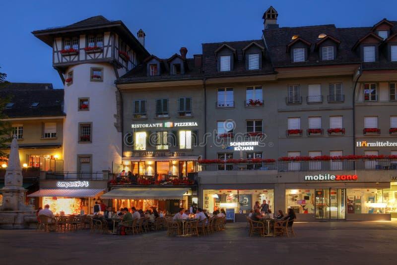 Barenplatz, Berne, Suisse photo libre de droits