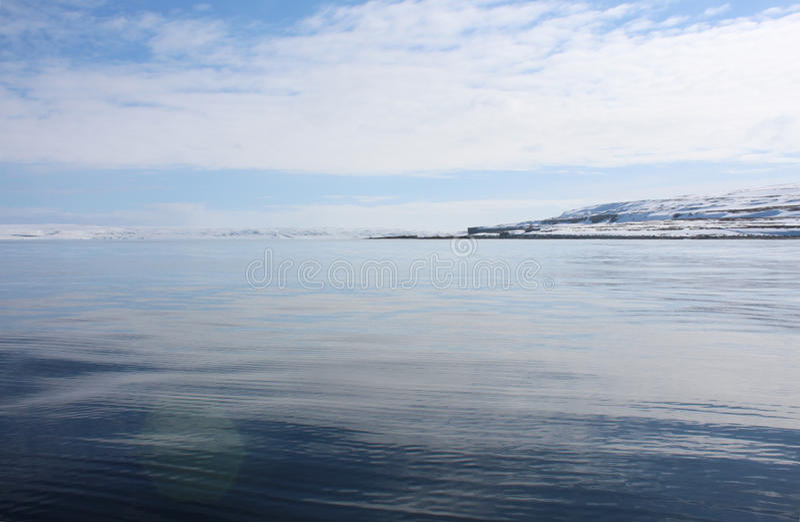 Barents morze fotografia stock