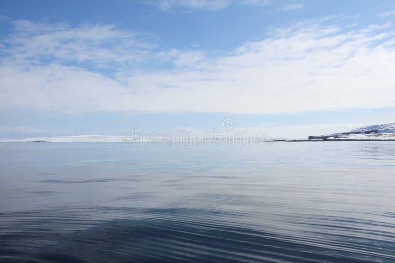Barents morze fotografia royalty free