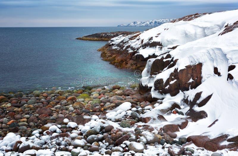 Barents morze, Arktyczny zdjęcia stock