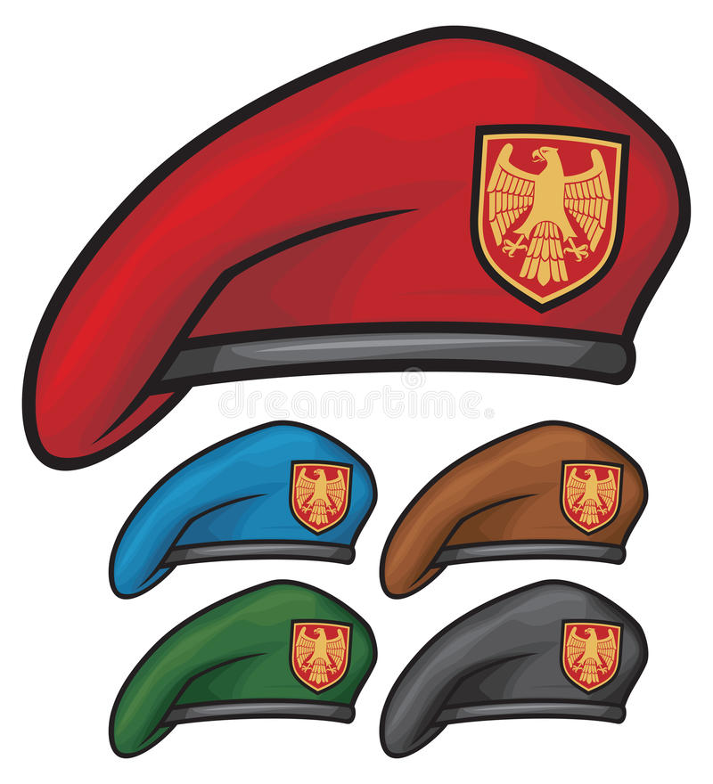 Baret vector illustratie