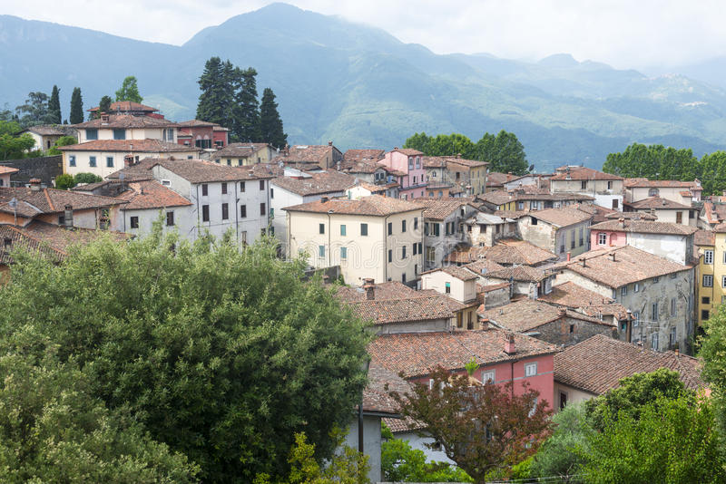 Barga (Тоскана, Италия) стоковая фотография