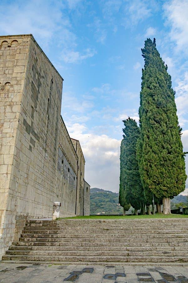 Free Barga Castle In Tuscany, Italy Stock Photography - 164243272