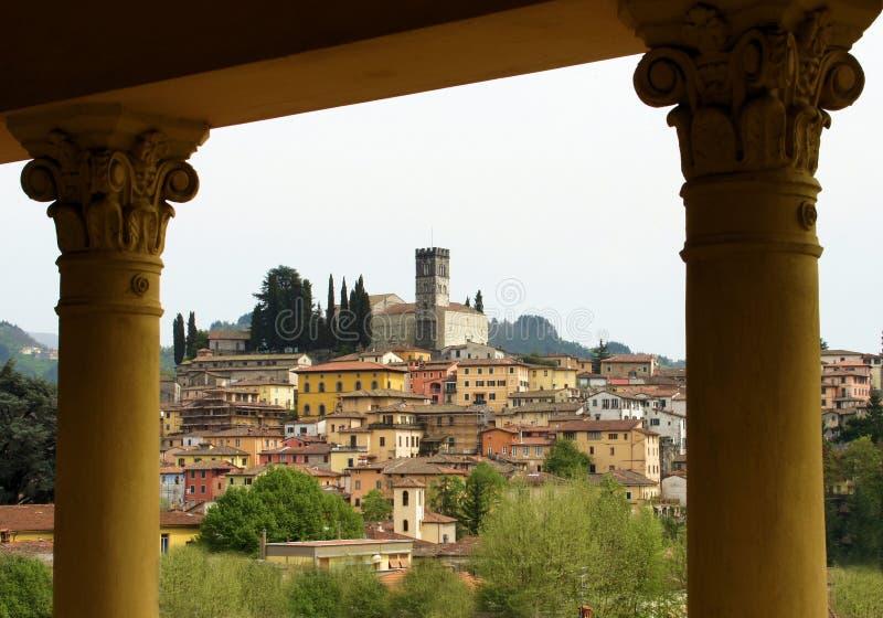 Barga Luca Toscanië Italië stock afbeeldingen