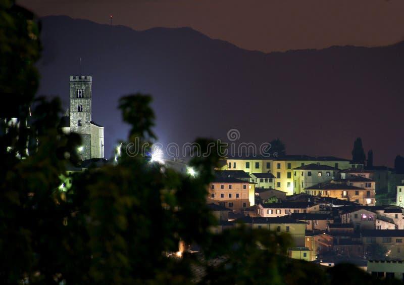 Barga Lucca Tuscany Italy fotografia stock