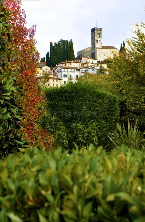 Barga Lucca Tuscany Italy obraz stock