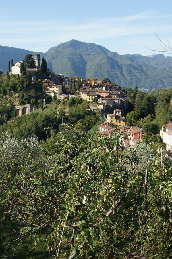 Barga Lucca Tuscany Italy obrazy stock