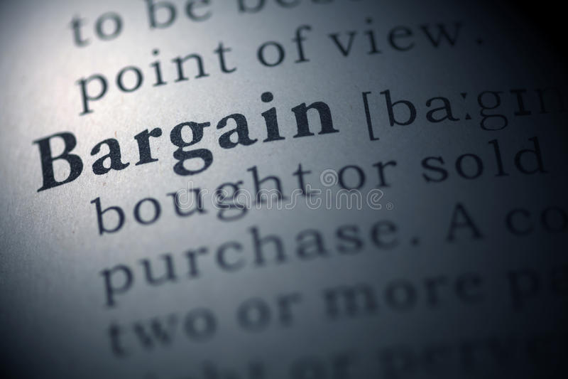 Bargain royalty free stock image
