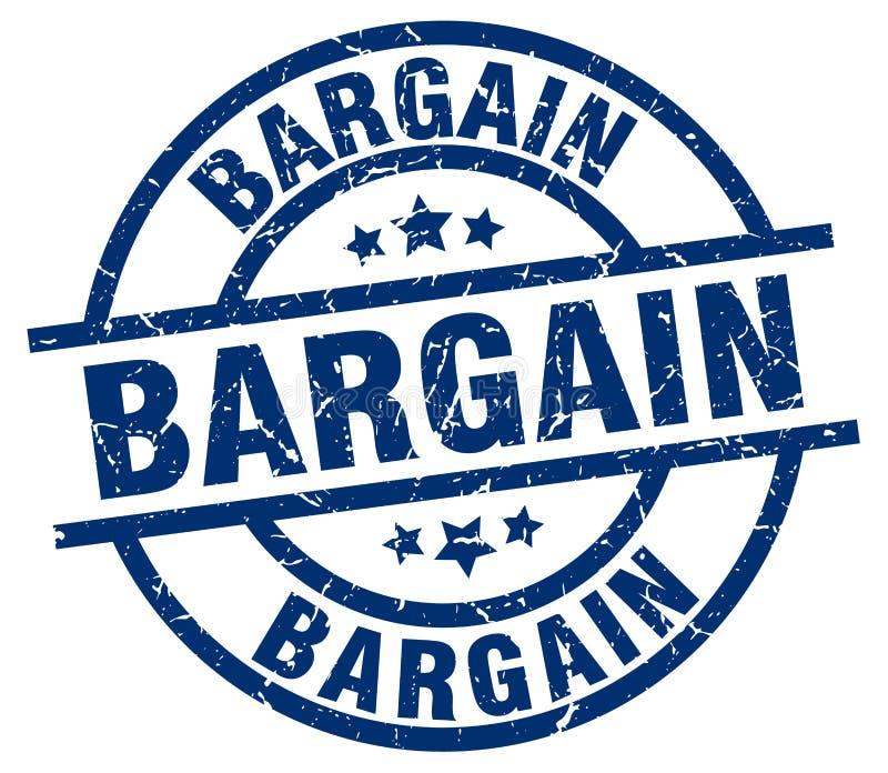 Bargain stamp. Bargain grunge vintage stamp isolated on white background. bargain. sign royalty free illustration
