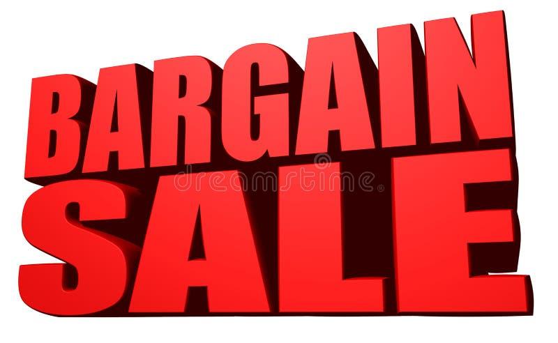 Bargain sale. This is a Bargain sale stock illustration