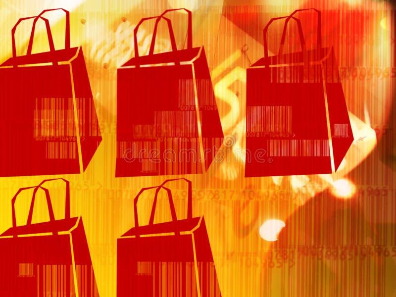 Bargain Sale. Illustrative bargain sale abstract background. Concept for shopping, sale, discount, etc vector illustration