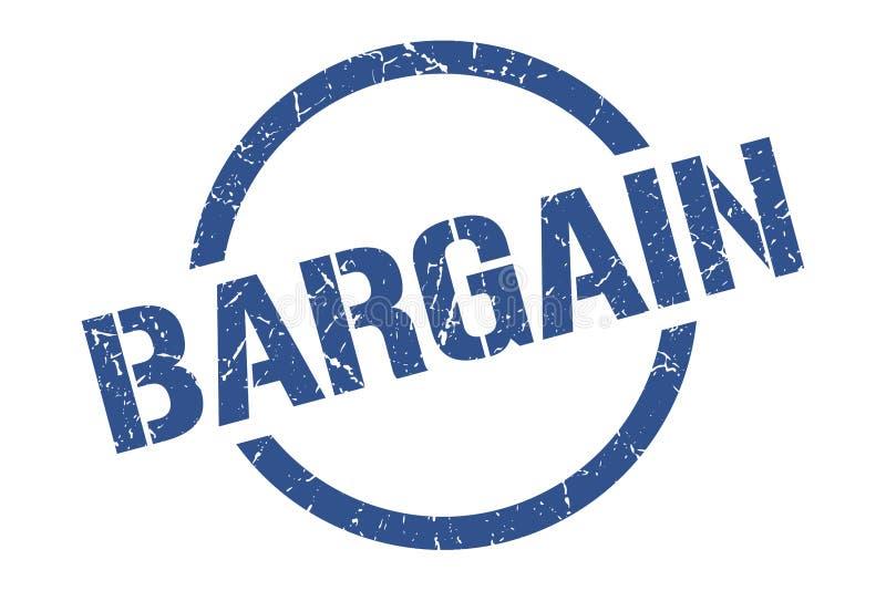 Bargain stamp. Bargain round grunge stamp. bargain sign. bargain stock illustration
