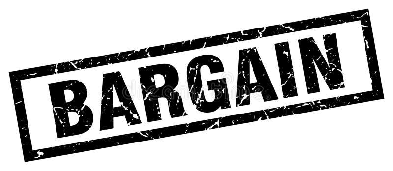 Bargain stamp. Bargain grunge vintage stamp isolated on white background. bargain. sign vector illustration