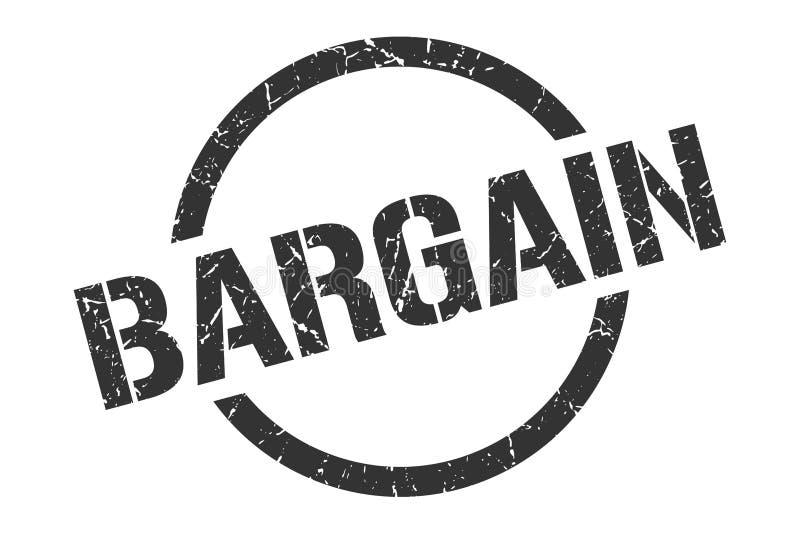 Bargain stamp. Bargain round grunge stamp. bargain sign. bargain vector illustration