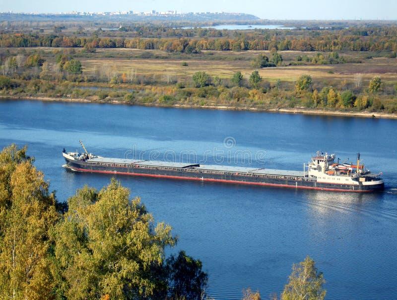 Barge royalty free stock image