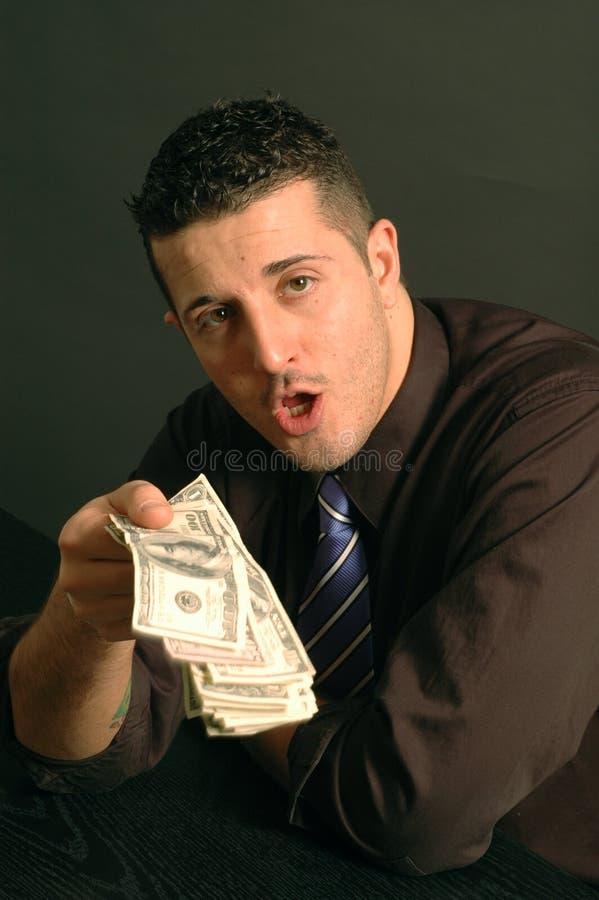 Bargeld in der Hand 2466 lizenzfreie stockfotos