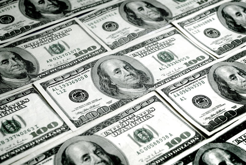 Bargeld-Geld stockfotografie