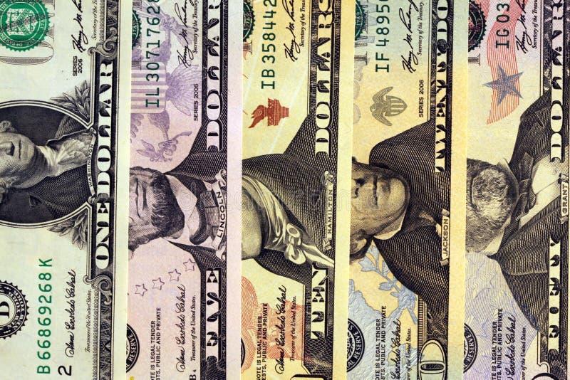 Bargeld - US-Dollars stockbilder