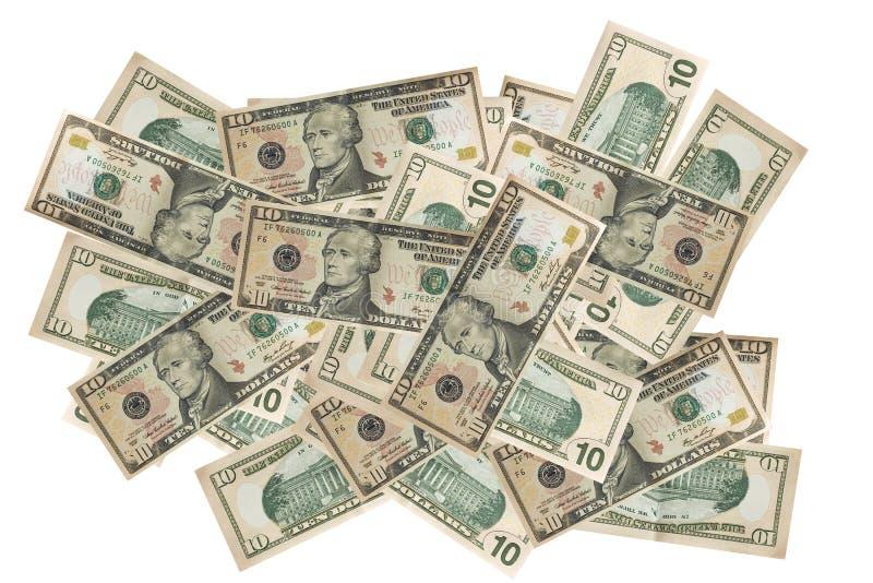 Bargelddollar finanziert Hintergrund lizenzfreie stockfotos