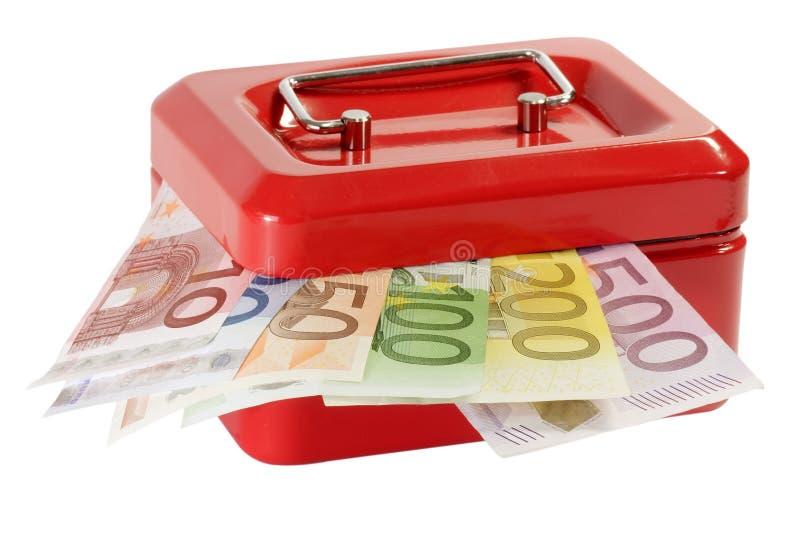 Bargeldkasten lizenzfreie stockfotos
