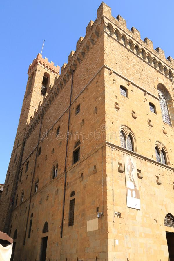 Bargello National Museum arkivbilder