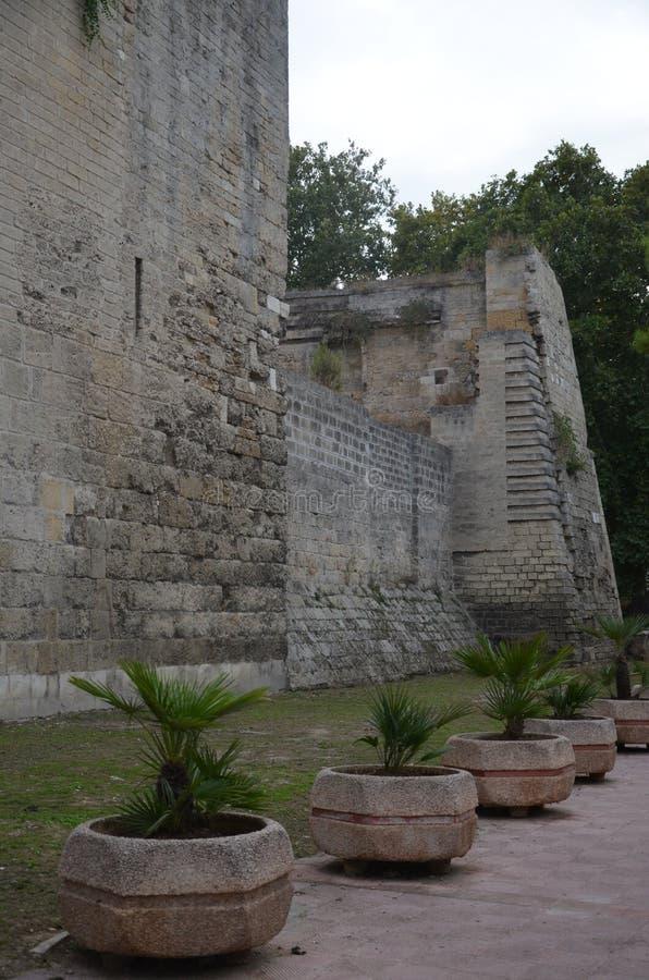 Bari Castle - gammal stadarkitektur fotografering för bildbyråer