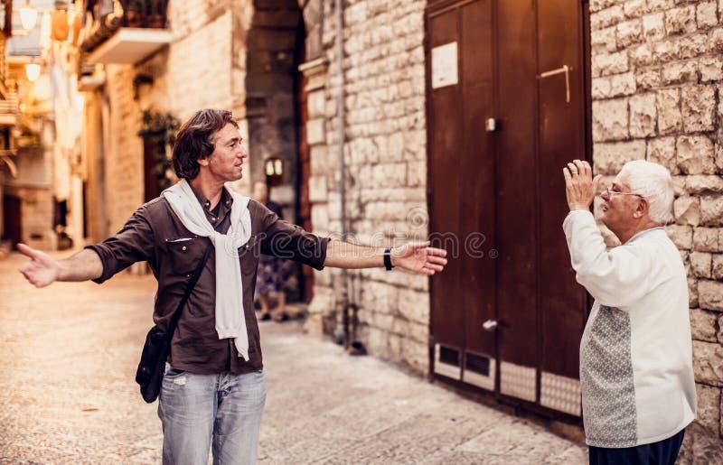 Bari Italien royaltyfri fotografi