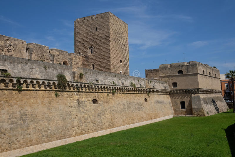 Bari Italien royaltyfria foton