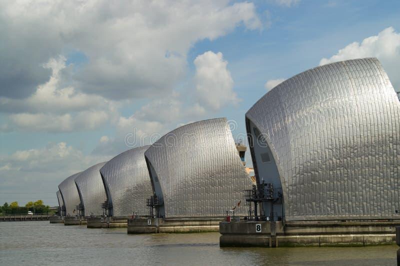 bariera Thames zdjęcie royalty free