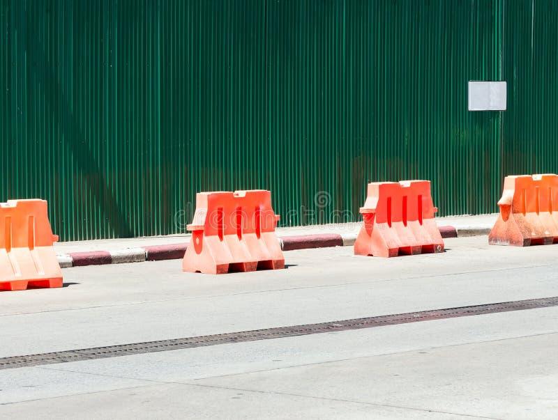 Bariery ogrodzenie zdjęcia royalty free