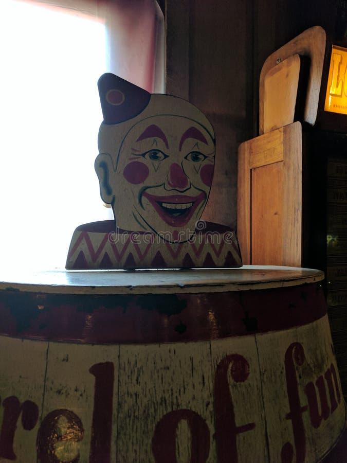 Baril de clown image libre de droits