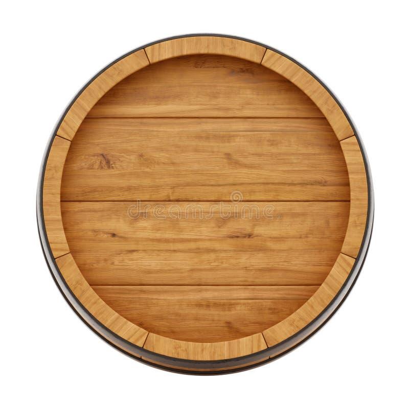 Baril de vin illustration de vecteur