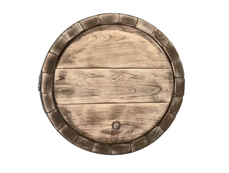 Baril en bois photo libre de droits