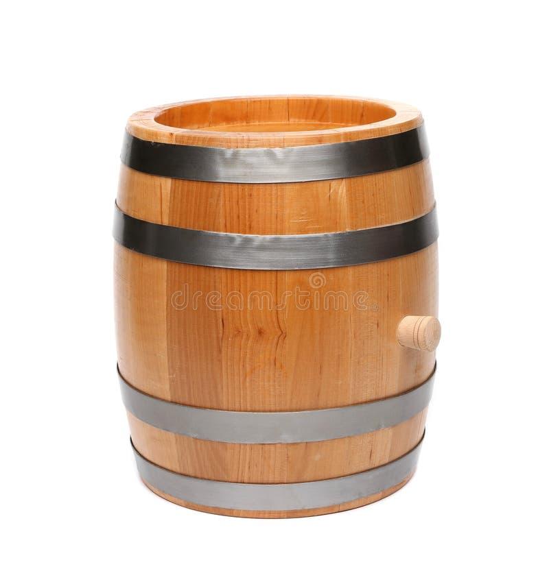 Baril en bois image libre de droits
