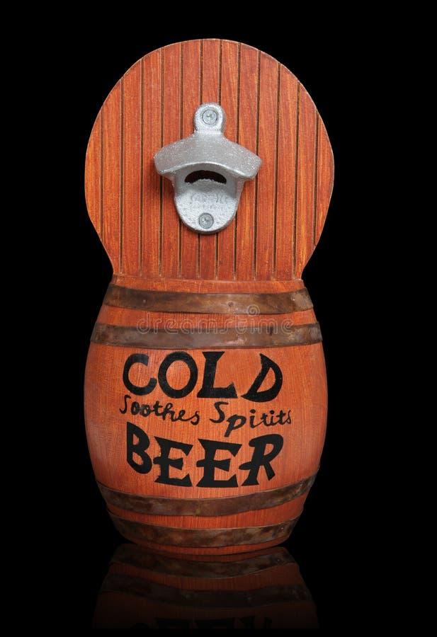 Barile di birra di legno immagini stock