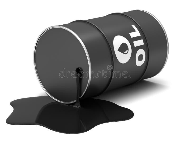 Barili da olio illustrazione vettoriale
