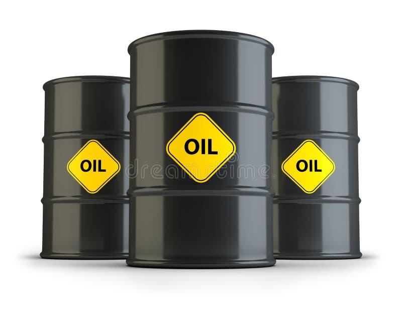 Download Barili da olio illustrazione di stock. Illustrazione di industriale - 55363774