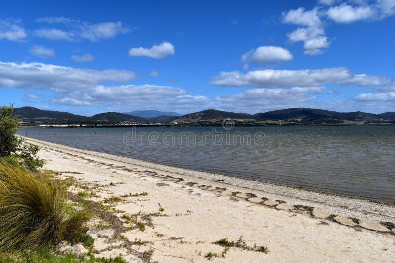 Barilla-Bucht, Tasmanien lizenzfreies stockbild