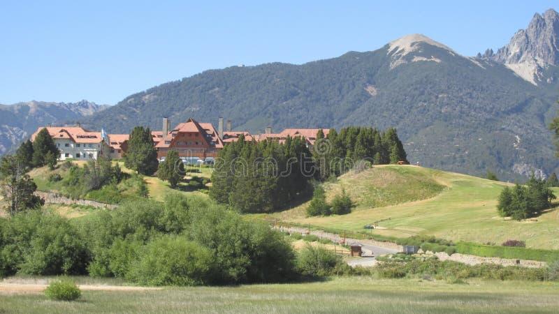 Bariloche arenaceous royaltyfri fotografi