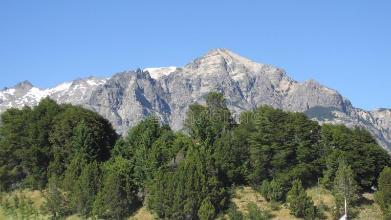 Bariloche arenaceous royaltyfri bild