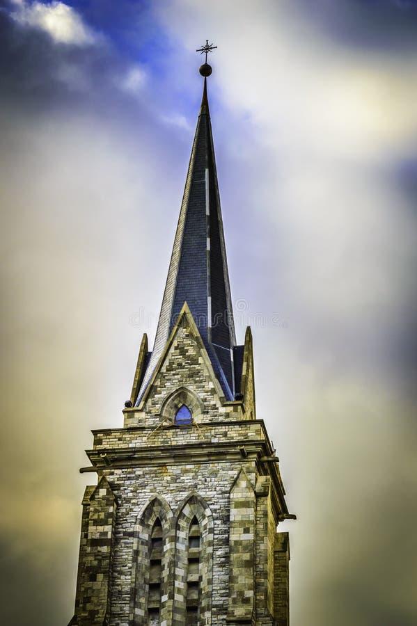Bariloche katedry wierza zdjęcie royalty free