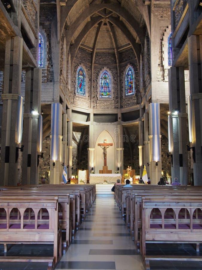 Bariloche kościół zdjęcia royalty free