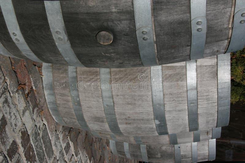 Barilotti di legno fotografie stock libere da diritti
