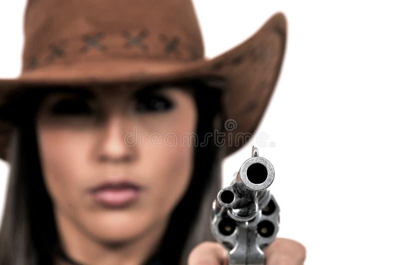 Barilotto del revolver fotografie stock libere da diritti