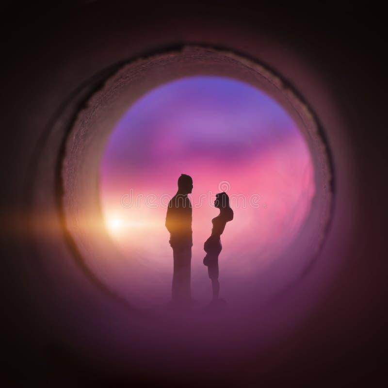 Barilotto di amore fotografia stock libera da diritti