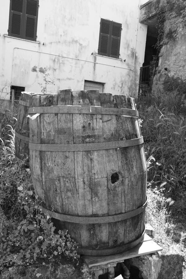 Barilotto di legno fotografia stock
