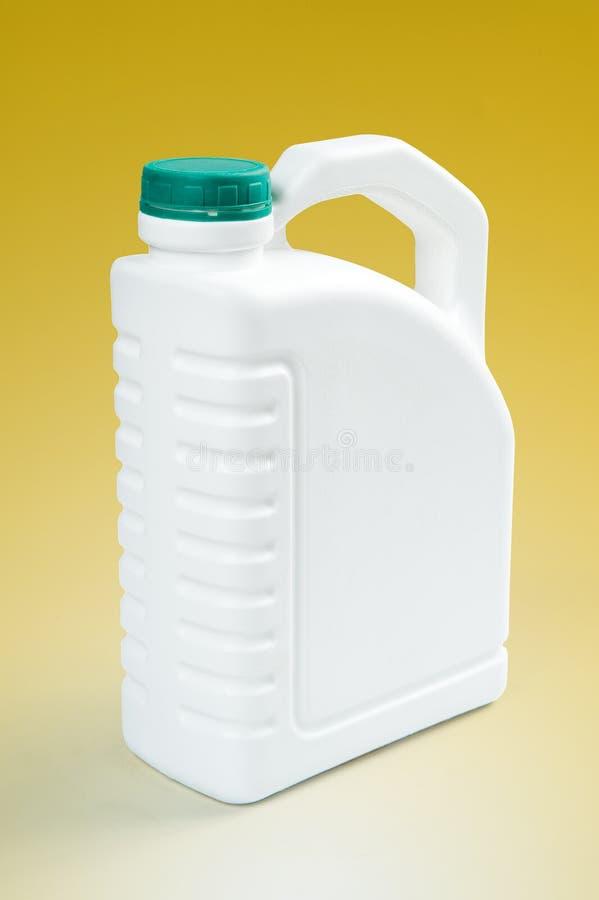 Barilotto di plastica bianco fotografie stock libere da diritti